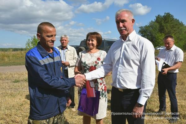 Глава Ульяновской области доволен результатами работы АПК региона