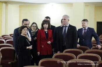 23 января Губернатор Сергей Морозов  осмотрел Дом культуры рабочего посёлка Мулловка