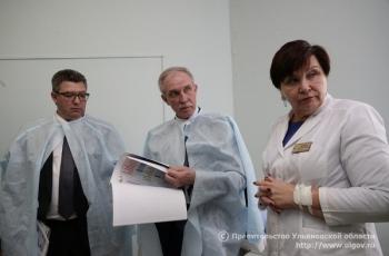 Губернатор Сергей Морозов осмотрел медучреждение и обсудил перспективы его развития с руководством ОДКБ и профильного ведомства.