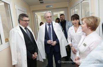 3 февраля Губернатор Сергей Морозов проконтролировал результаты ремонта основного и лабораторного корпусов Ульяновского областного центра СПИД