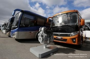 Выставка высокотехнологичного пассажирского транспорта